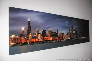 Panoramic Metal Print