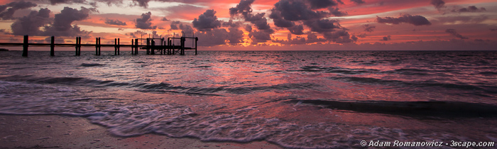 Sunrise Panoramic, Marathon Key Florida