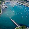 Belmont Harbor Aerial