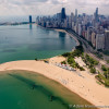 North Avenue Beach Aerial