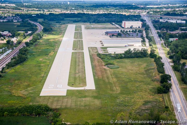 Schaumburg Regional Airport Aerial