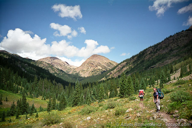 Hikers - San Juan Mountains, CO