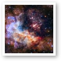Westerlund 2 - Hubble 25th Anniversary Image