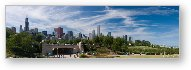 Chicago Grant Park Panoramic
