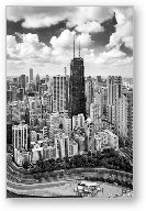 Chicago's Gold Coast Black and White