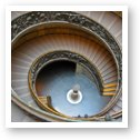 Famous spiral staircase - Vatican Museum