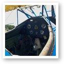 Cockpit of Stearman PT-13D