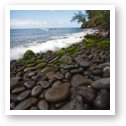 Rocky shoreline near DT Fleming beach