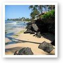The beach at Papakea Resort