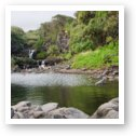 Oheo Pools (Seven Sacred Pools) near Hana, Maui