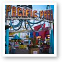 Pacific Park amusement park at Santa Monica Pier