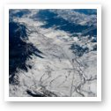 Snow covered Rocky Mountains