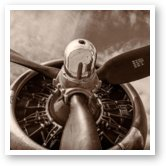Buy Print of Vintage B-17 Flying Fortress