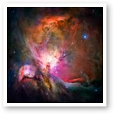 Buy Print of Hubble's sharpest view of the Orion Nebula