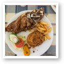 Tasty Lionfish at Sea Side Terrace Restaurant