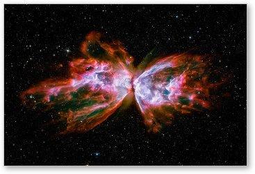 Butterfly Nebula NGC6302 Canvas Print