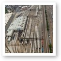 Western Avenue Metra Train Yard