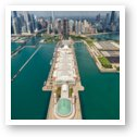 Navy Pier Chicago Aerial