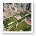 Millennium Park From Above