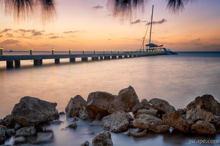 Dusk at Rum Point, Grand Cayman