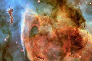 Light and Shadow in the Carina Nebula