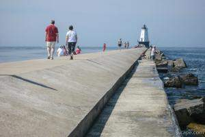Ludington North Breakwater and Lighthouse