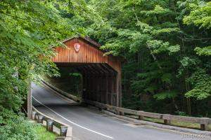 Sleeping Bear Dunes Covered Bridge