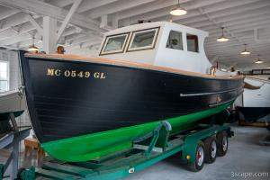 Vintage Coast Guard Boat