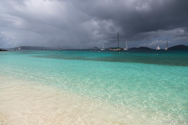 Storm over St. Thomas