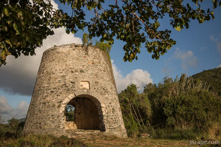 Sugar mill ruins on Peace Hill