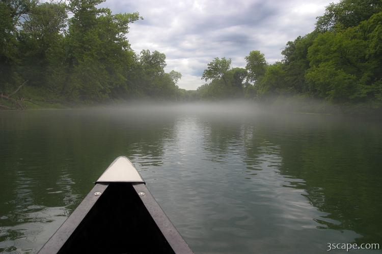 Canoeing the Ozarks