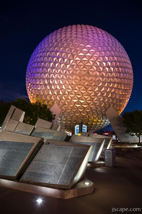 Epcot Spaceship Earth Photograph Landscape Amp Travel