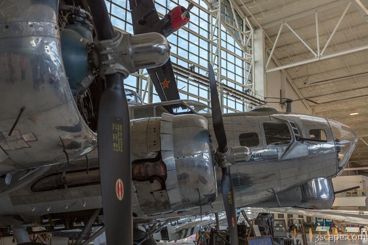 d30bb1ddd93 Boeing B-17 Flying Fortress Canvas Print - Landscape   Travel ...