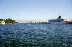 Port of Miami and cruise ships