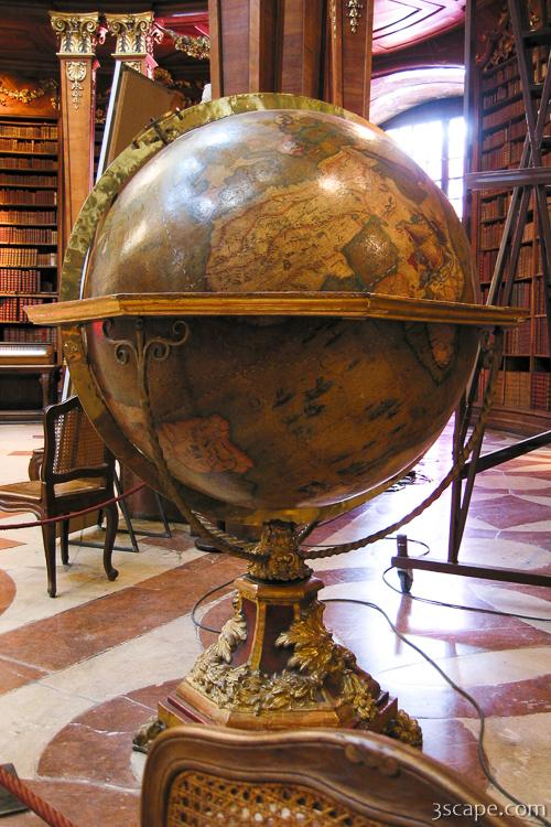 Globe at the National Library