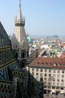 View from Stephansdom's Bell Tower