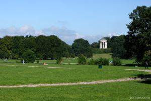 English Gardens (huge park) and Monopteros