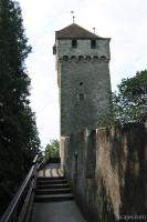 City wall and tower