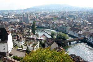 Luzern from above