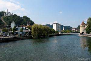 Luzern, Reuss River