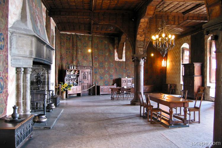 Inside Chateau de Chillon Photograph - Landscape & Travel ...