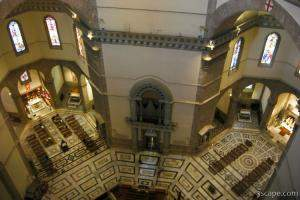 Looking down from the dome (Santa Maria del Fiore)