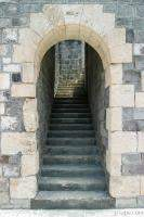 Stairwell in Brimstone Hill Fortress