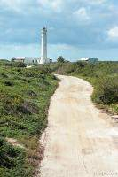 Sandy road to Punta Colarain Lighthouse