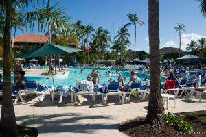 The pool life at the Allegro Punta Cana Resort