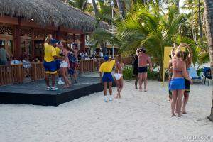 The resort offered many activities during the day, like Marenge