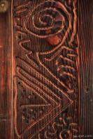 Artistic woodwork on the walls