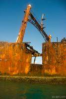 Astron rusting away