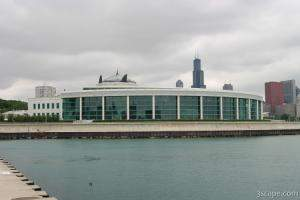 Shedd Aquarium (Oceanarium section)