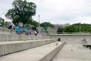 Kids on a field trip to Shedd